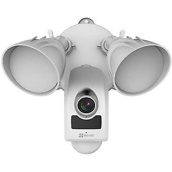 Flutlicht Security Kamera, HD Outdoor WiFi/LAN Kamera, Überwachungskamera, Tag- und Nachtsicht,