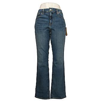 NYDJ Petite Jeans Femme Marilyn Straight Leg Jeans - Rhodes Blue A350712