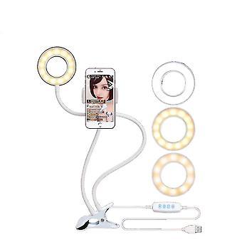 Foto Studio Selfie Led Ring Light cu suport de telefon mobil