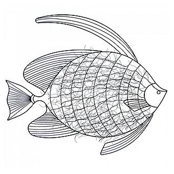 Accent Plus Metal Fish Wall Decor, Pack of 1