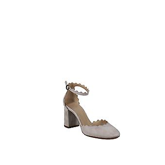 Chloe | Lauren Scalloped Ankle Strap D'Orsay Pump