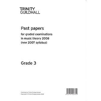 Trinity Past Papers: Theory of Music (2008) Gd 3