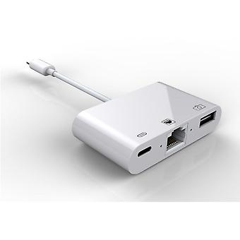 3-in-1 Gigabit Network Accelerator With Usb Charging