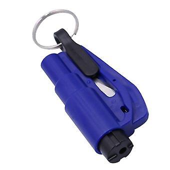 Brise-vitre Puncher Belt Safety Cut Hammer Keychain