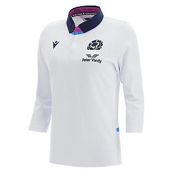 ماكرون اسكتلندا بديل ثلاثة أرباع كم كلاسيك قميص الرجبي 2021 2022 السيدات