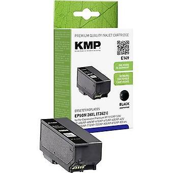 KMP de tinta sustituye Epson T2621, 26 XL negro Compatible E149 1626,4001