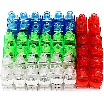 Finger Lights,bright Led Rave Laser Assorted Toys, Pack Of 50