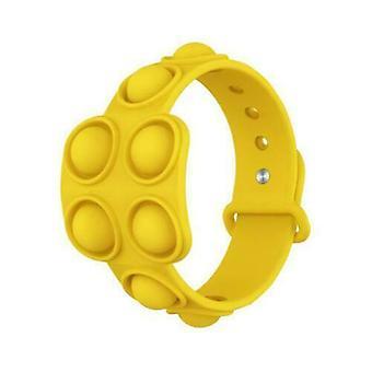 Push Bubble Fidget Bracelet Dimple Stress Relief Sensory Toy-1