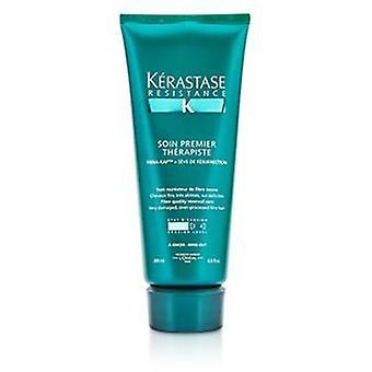 Kerastase resistência Soin Premier Therapiste fibra qualidade renovação Care (para muito danificado over-porcessed cabelo fino)-200ml/6.8 oz