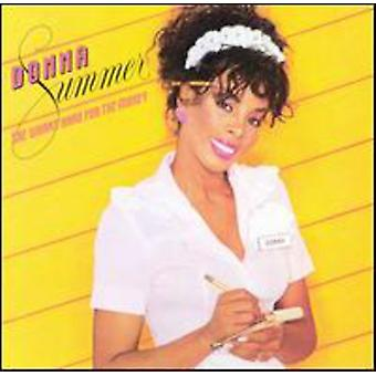 Donna Summer - She Works Hard for the Money [CD] USA import