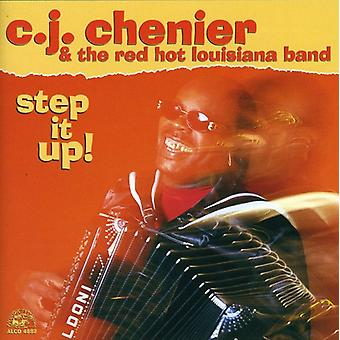 C.J. Chenier - Step It Up! [CD] USA import