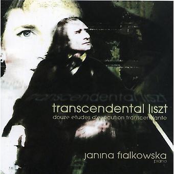 Janina Fialkowska - Transcendental Liszt [CD] USA import