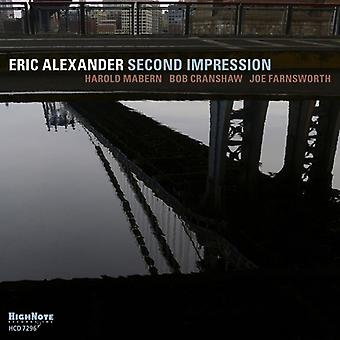 Eric Alexander - Second Impression [CD] USA import