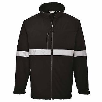 Portwest - IONA respirante imperméable veste Softshell avec bande réfléchissante (3L)