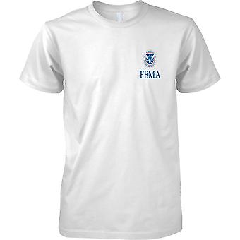 FEMA Homeland Security Insignia - Kids borst Design T-Shirt