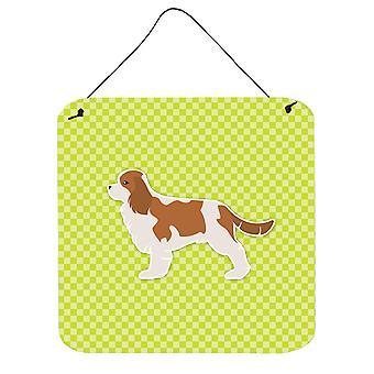 لوح شطرنج المتعجرف الملك شارل الكلب الأخضر الجدار أو الباب معلقة يطبع