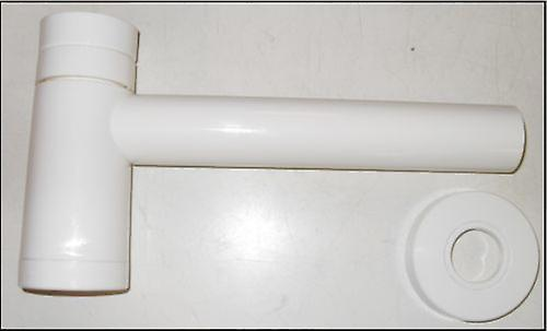 Polar White Modern Basin Waste Trap 1 1/4'' /40mm