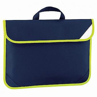 Quadra Enhanced-Vis Book Bag - 4 Litres
