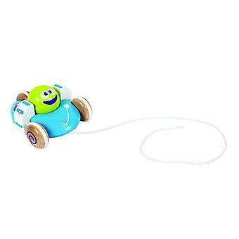 Boikido lentävä lautanen puinen vetää pitkin Space lelut ja 12 m +