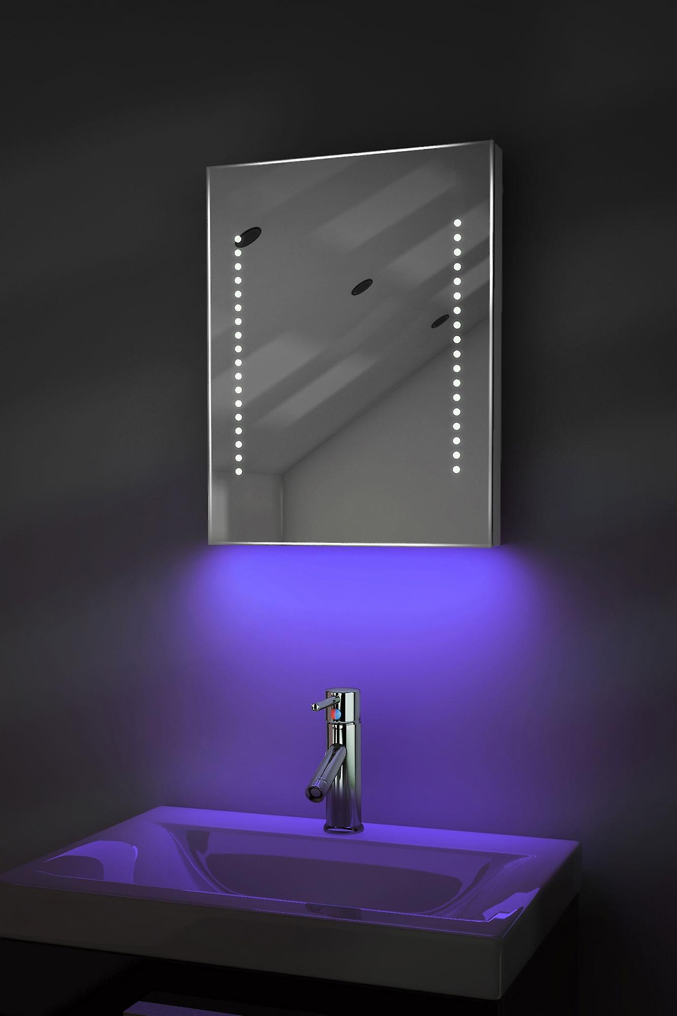 Ambient Shaver LED Bathroom Mirror With Demister Pad & Sensor K36sb
