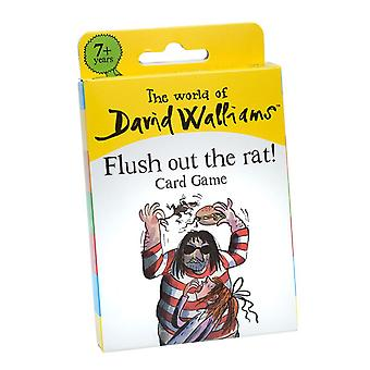 The World of David Walliams - Flush Out The Rat! Card Game