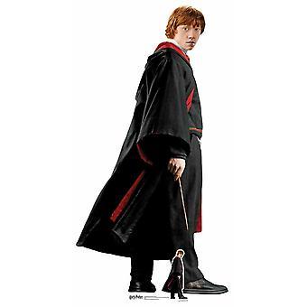 Ron Weasley Hogwarts skoluniform Lifesize kartong utklipp / stående