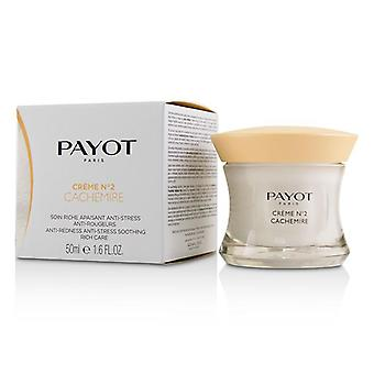 Payot Creme N°2 Cachemire Anti-redness Anti-stress Soothing Rich Care - 50ml/1.6oz