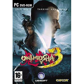 Onimusha 3 Demon Siege Game PC CD spel