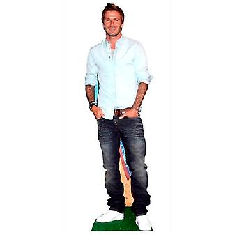 David Beckham carton découpe