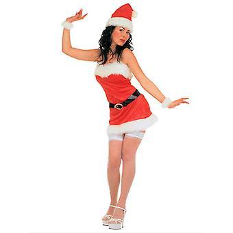 Miss Santa fluweel kostuum