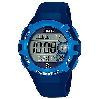 Lorus 子供ジョコビッチ財団デジタル青いストラップ ブルー ダイヤル R2391LX9 時計