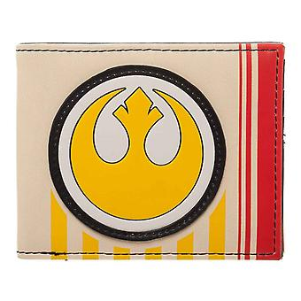 Star Wars portfel ostatni Jedi odcinek 8 Rebel Logo nowej oficjalnej Bifold