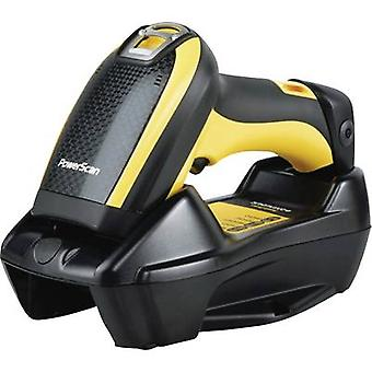 Datalogic PowerScan PBT9500 Barcode scanner Bluetooth® 1D, 2D Imager Yellow, Black Hand-held USB
