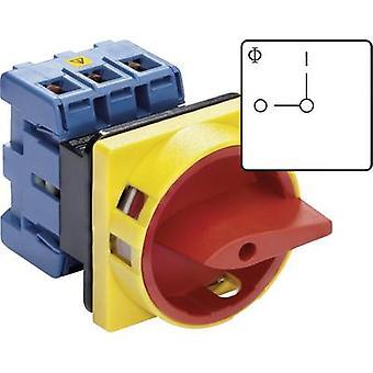 Kraus & Naimer KG10B T203/01 E Isolator bryteren låsbare 20 en 1 x 90 ° rød, gul 1 eller flere PCer