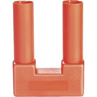 Schnepp SI-FK 19/4 rt Safety shorting plug Red Pin diameter: 4 mm Dot pitch: 19 mm 1 pc(s)