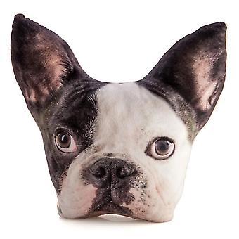 Franse Bulldog PLUSCHE Cushion