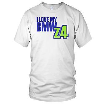J'adore ma BMW Z4 voiture Mens T Shirt