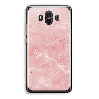 Huawei Mate 10 caso transparente (Soft) - mármore rosa