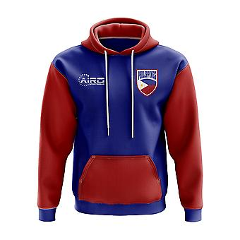 Philippines Concept Country Football Hoody (Blue)