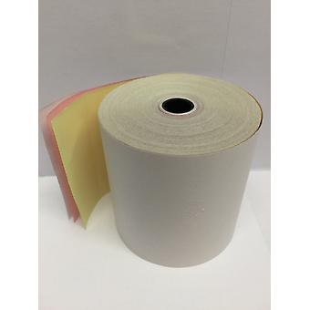 Omniprint OPC-200 3 Ply Till Rolls / Receipt Rolls / Cash Register Rolls - Box of 20 Rolls
