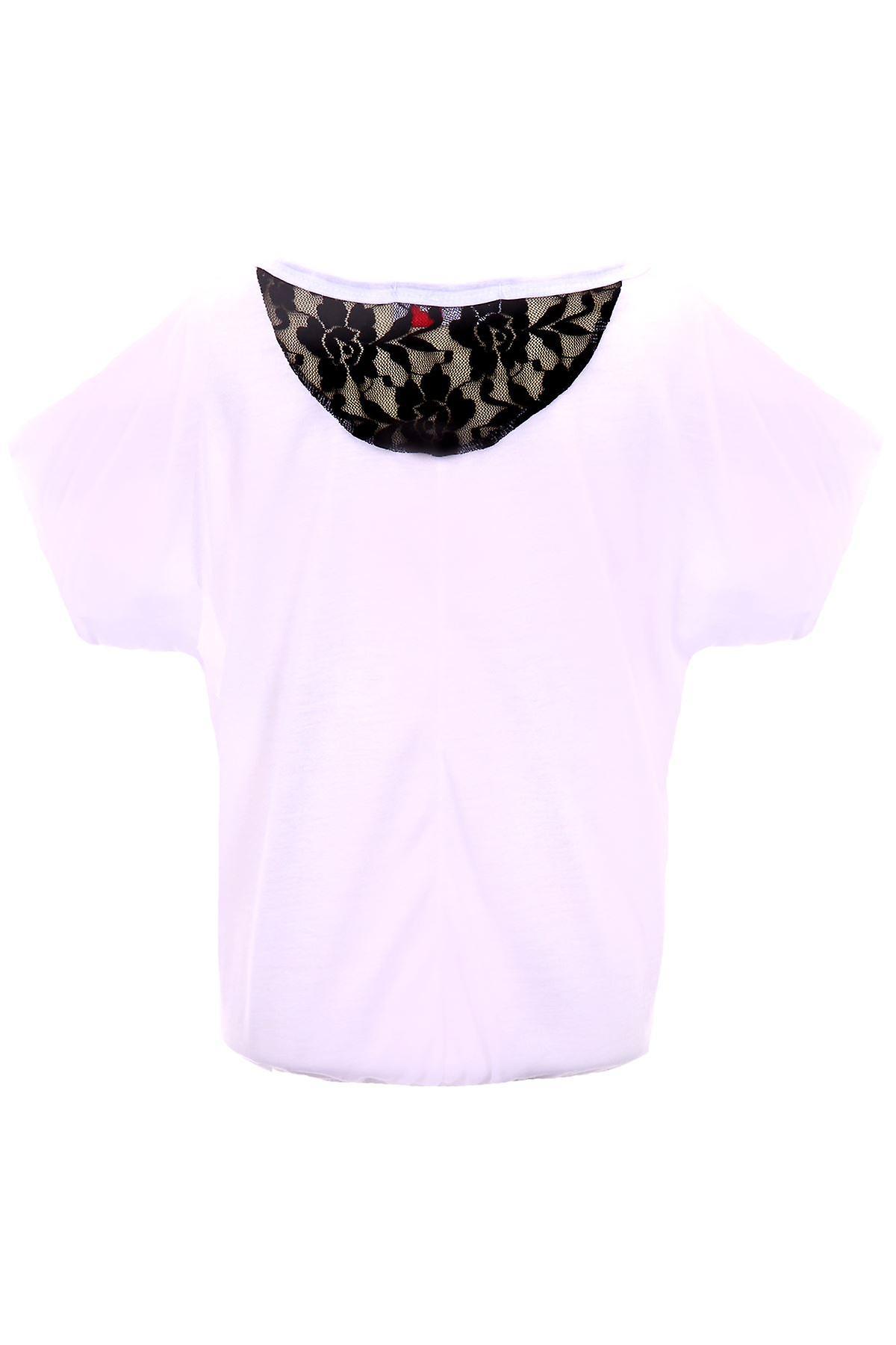 Lasten kallon Rose tulosta Glitter nauha takaisin Party rento tyttöjen Top t-paita