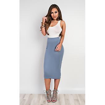 IKRUSH Womens Elisheva Basic Midi Skirt