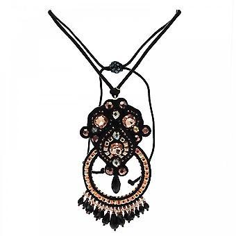 Butterfly St.moritz Large Gem Drop Necklace