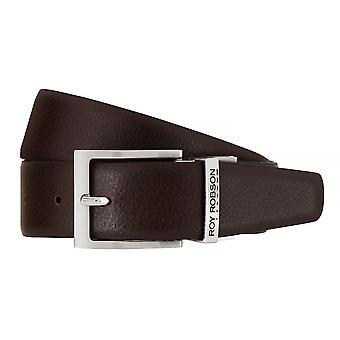 ROY ROBSON belts men's belts leather belt belt blue/Brown 7634