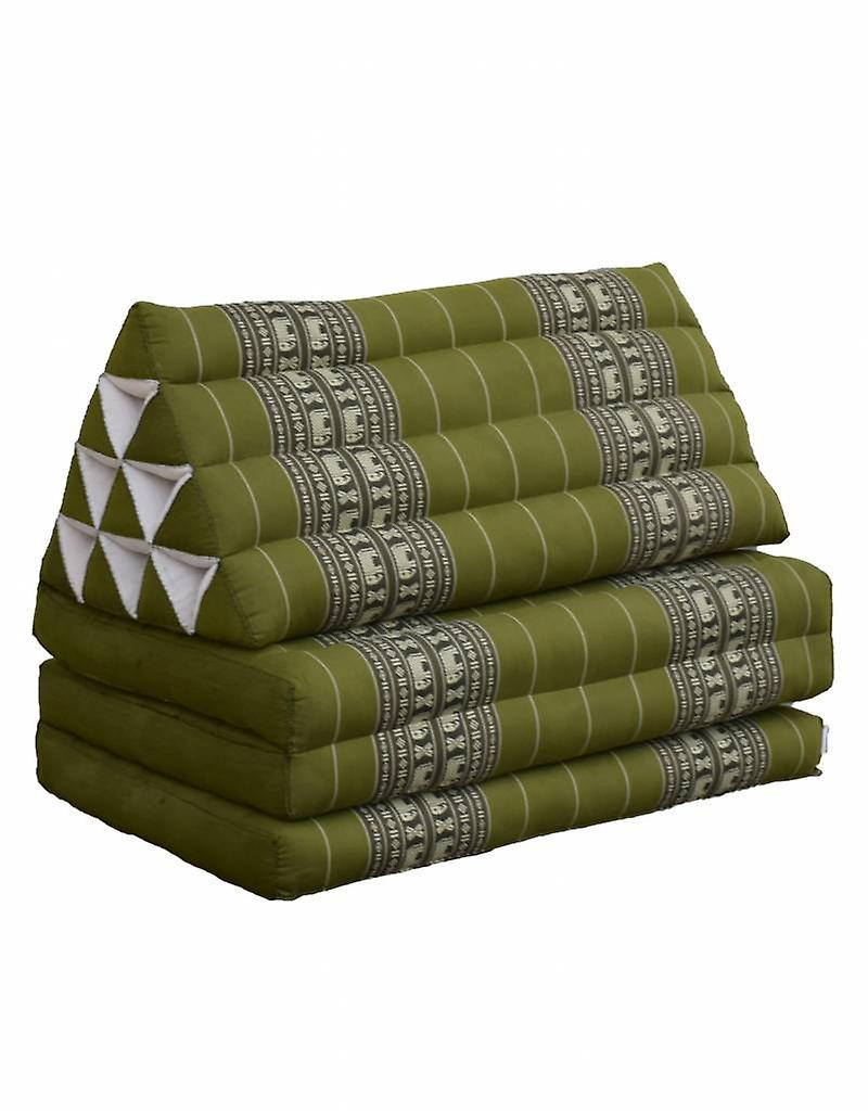 Thai Moonz Floor Cushion Jumbo 3 Mat Green