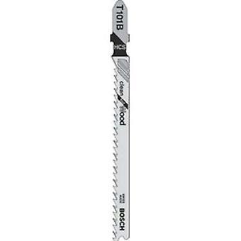 Bosch T101B Jigsaw Klinge pk5 sauber geschnitten für Holz
