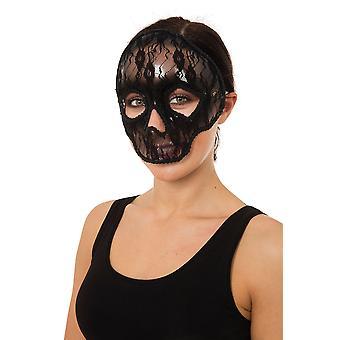 Skull Eye Mask Lace