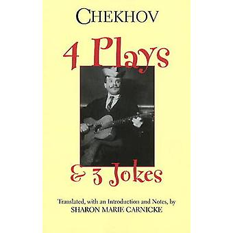 Four Plays and Three Jokes by Anton Chekhov - 9780872209978 Book