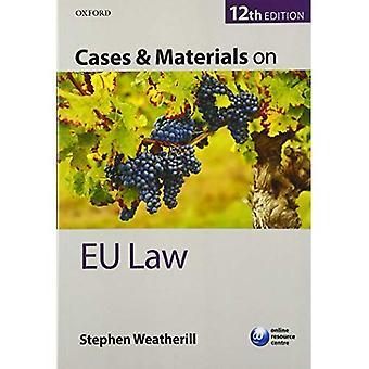 Cases & Materials on EU Law (Blackstone's Statutes)