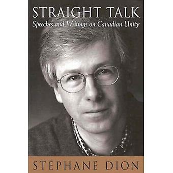 Straight Talk: Discursos e escritos sobre unidade canadense